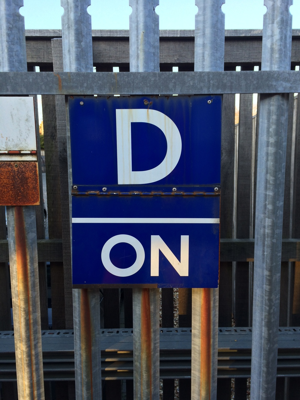 "A typical ""D"" board, they come in all sorts of shapes and sizes (and varying states of distress...)"
