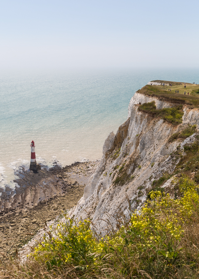 The Beachy Head Lighthouse came into operation in 1902