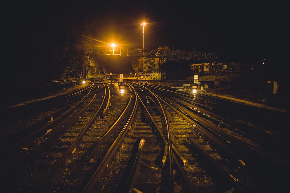 Waiting to depart Hainault Depot