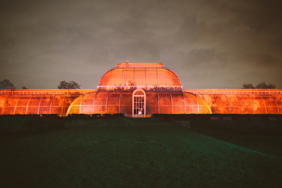 The Palm House, as seen from the Rose Garden