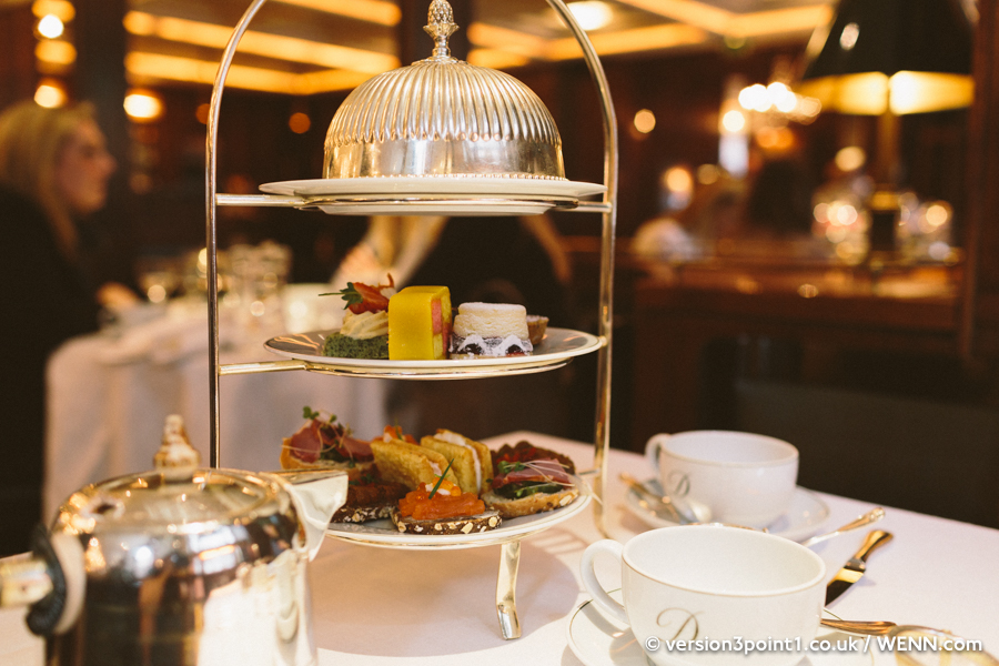 Afternoon tea sitting at The Delaunay