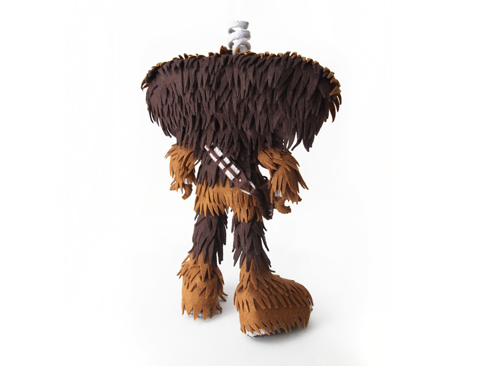 """Bad Wookiee"" is a fine art mix of the Bad Robot and Chewbacca"