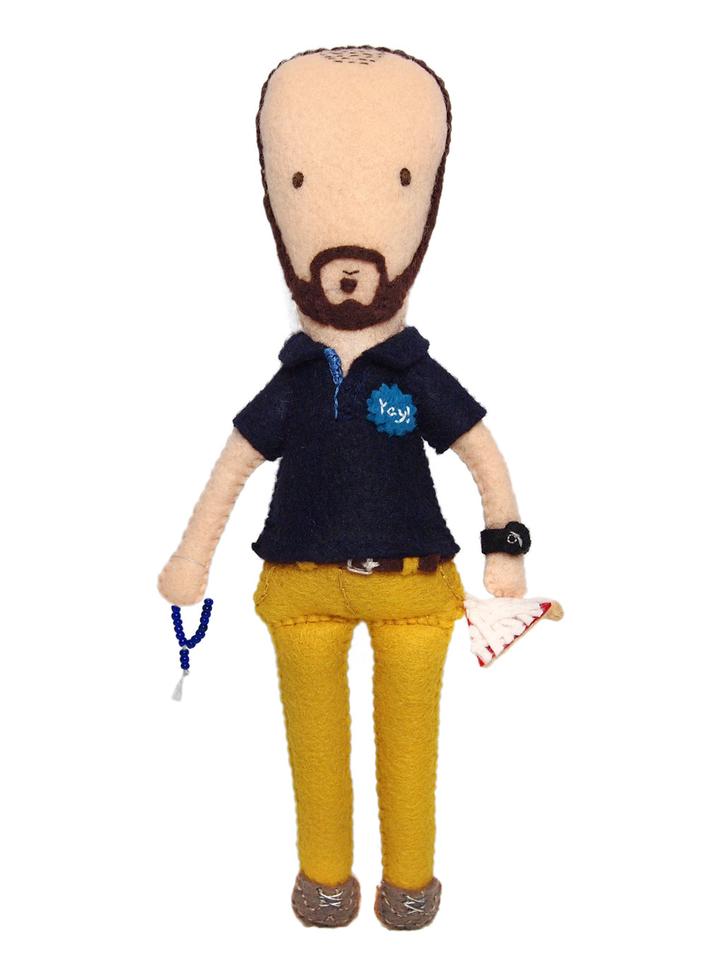 MOO Inc. employee appreciation personalized doll portrait