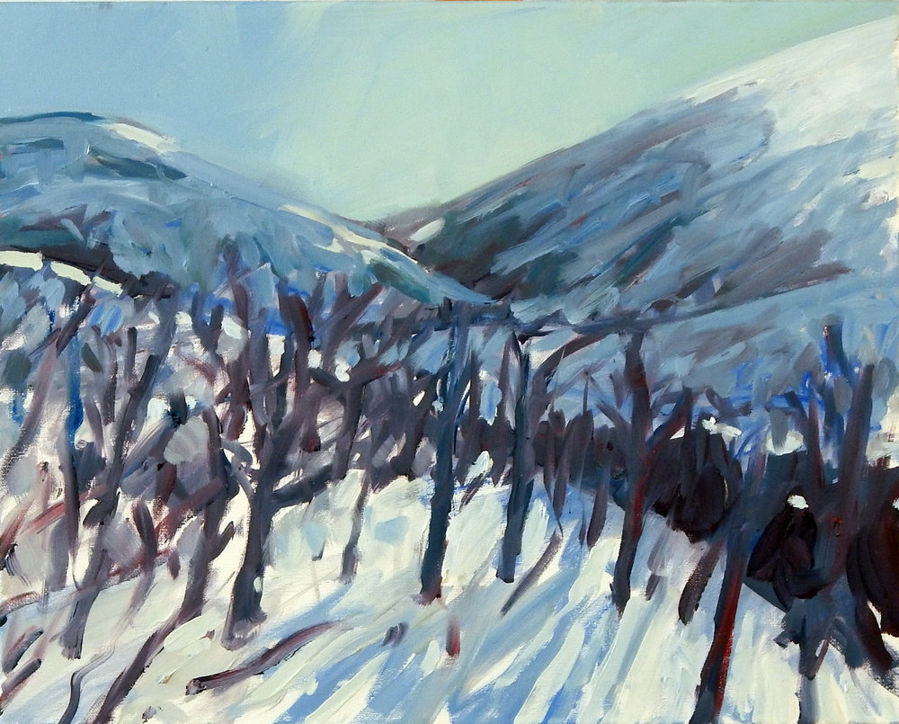 Tim Tolman: Red Butte with Snow
