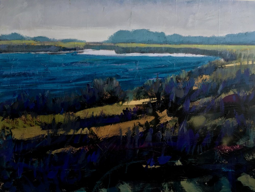 Tim Tolman Rehoboth Salt Water Pond
