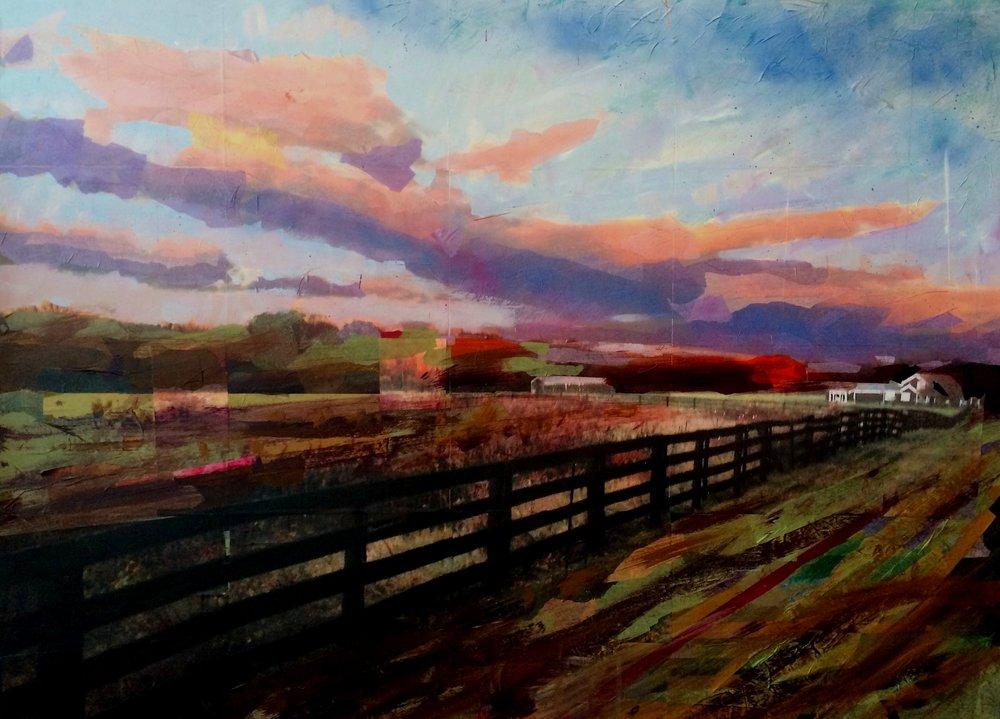 Tim Tolman: Farm With Fence
