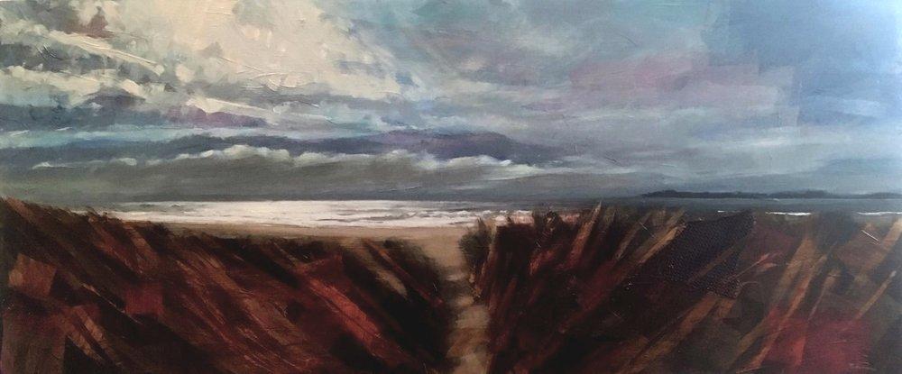 Westport dune view