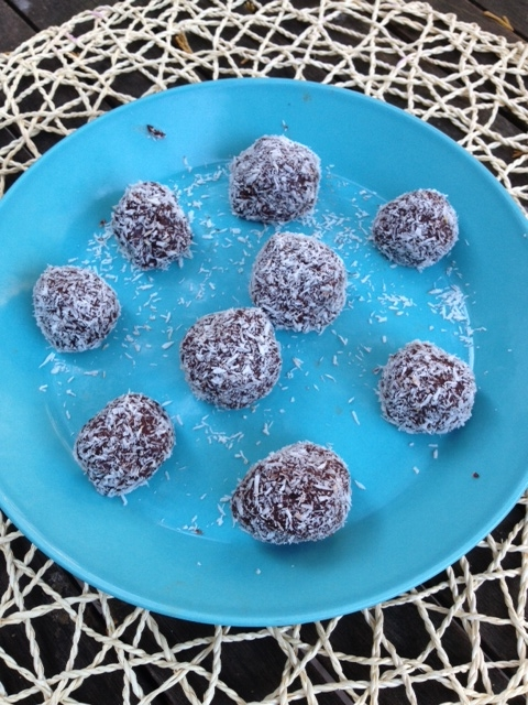 chocolate and coconut balls.JPG