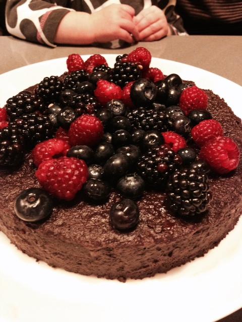 Indulgent Choco-cake!