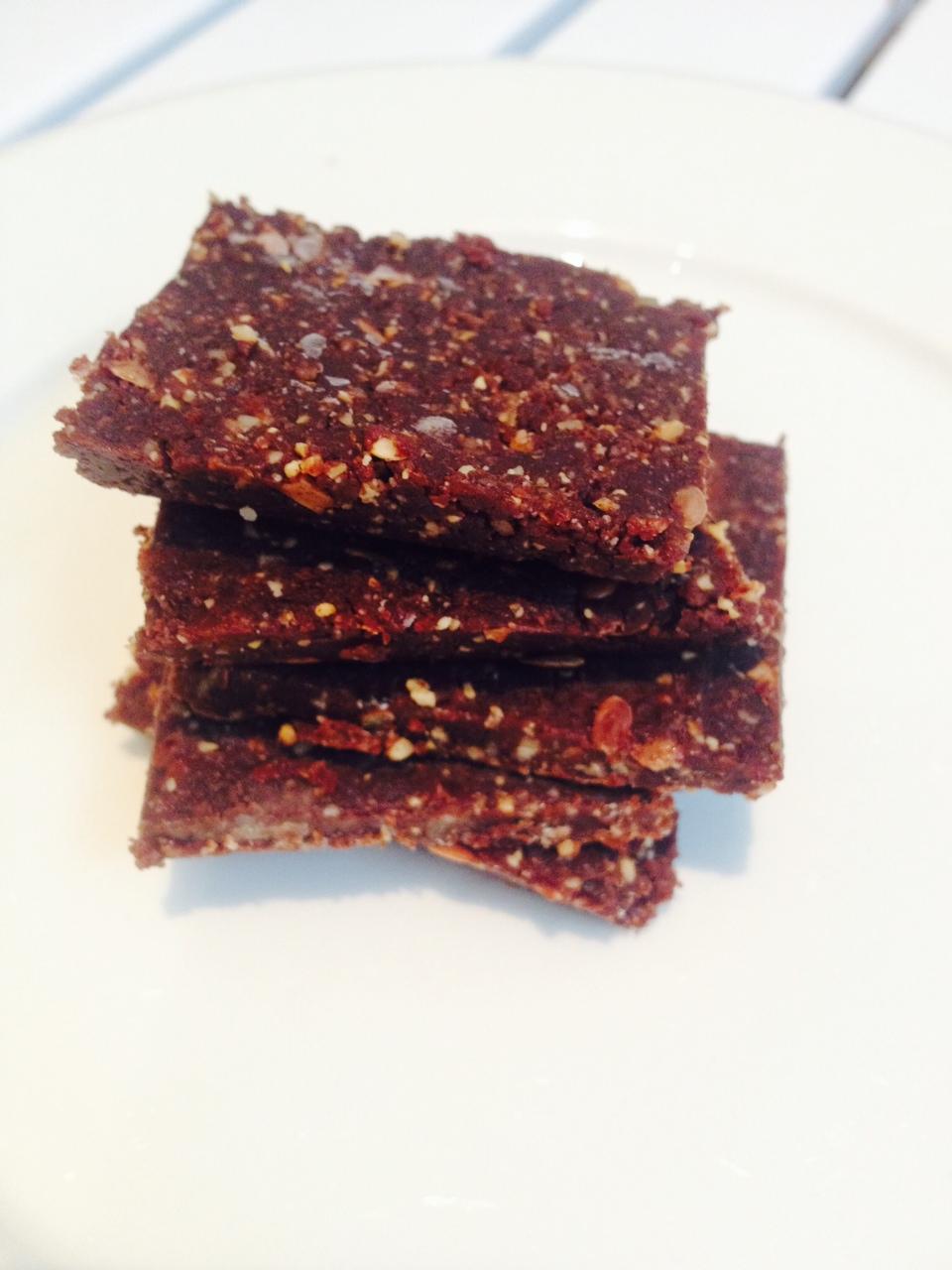 Raw cacao nut bar