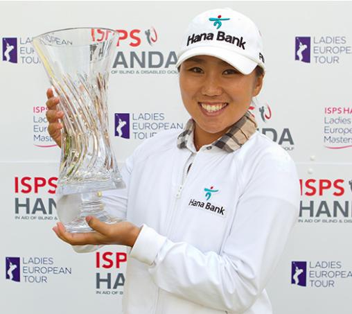 The 2014 ISPS HANDA Ladies European Masters CHAMP. I.K.KIM!