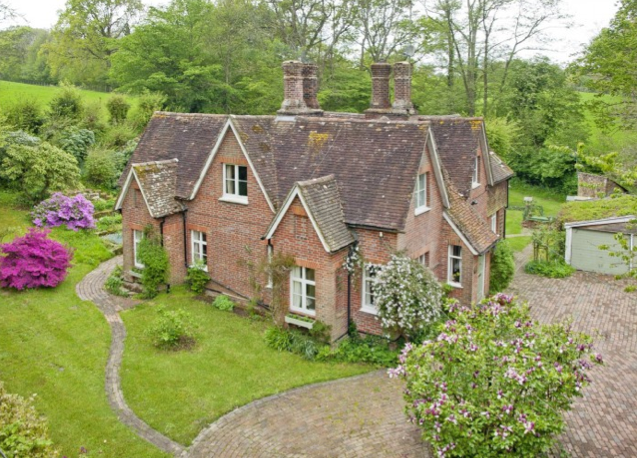 One property in Hawkhurst with a very quirky layout