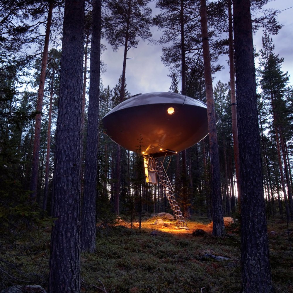 The UFO, Inrednin Gsgruppen