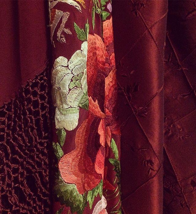 Sneak peek at the gorgeous makings of Rosina's dress :D