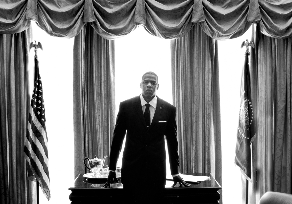 JAY Z IN THE WHITE HOUSE