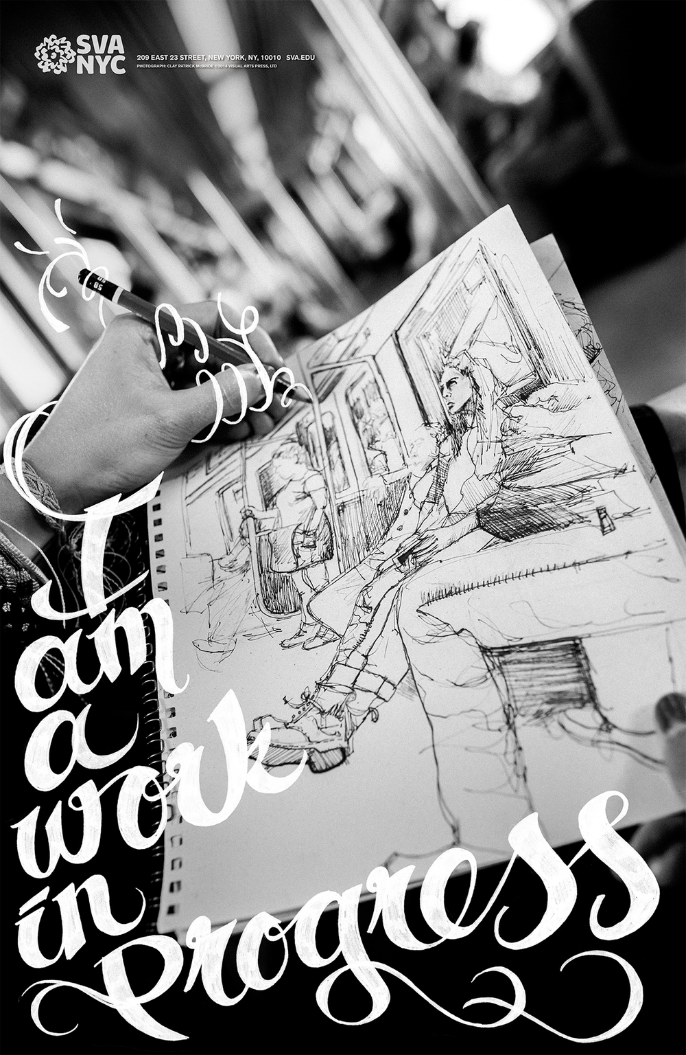 School of Visual Arts Subway Campaign