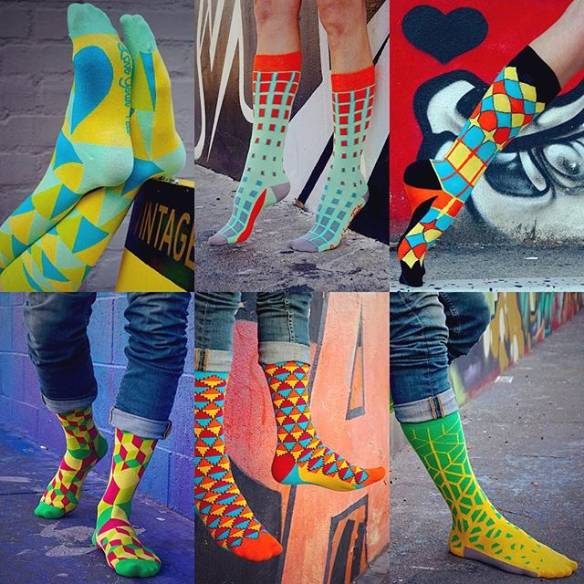 We've got a BIG GIVEAWAY to treat your lucky feet!! Leave a comment letting us know which design here is your favorite and be automatically entered to win all six pairs!  That's right, no tricks, all treats, Happy Halloween from #loveyourfeet 🎃 #LYFsocks #socks #giveaway #free #win