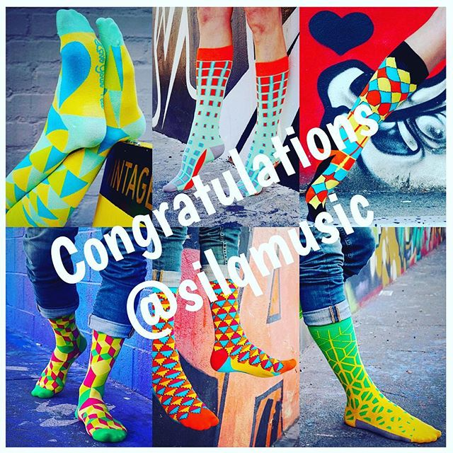 Congratulations to our big giveaway winner @silqmusic who will be receiving six free pairs of Love Your Feet socks!! Thank you to everyone who participated, check back soon for more opportunities to win and check out LYFsocks.com to see what treats we have in store for your feet. #LYFsocks #LoveYourFeet #socks #winner
