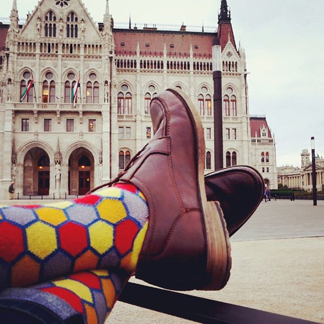 Happy Thanksgiving from #LoveYourFeet!! What are you feeling thankful for today? #LYFsocks #socks #travel #budapest