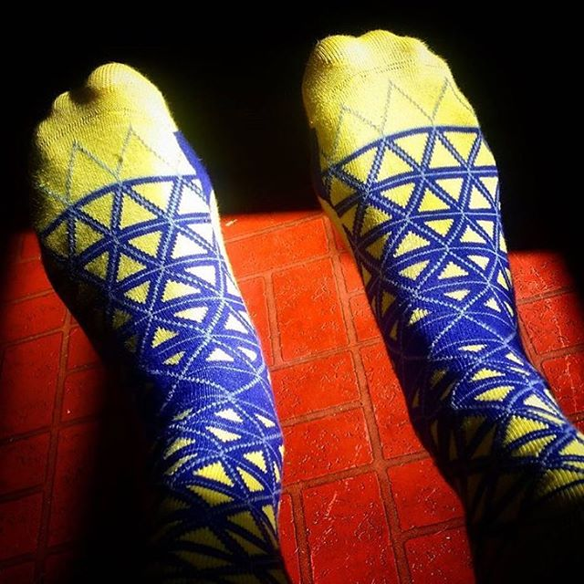 @mrdrayman67 is looking good in his new socks from #LoveYourFeet, thanks for sharing! #LYFsocks #socks #sockgame