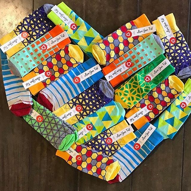 We're very excited to announce that Love Your Feet socks can now be found at The Other Foot & More!  Be sure to check them out at @shoptheotherfoot or at their store in Arkansas ❤ #LoveYourFeet #sock #LYFsocks