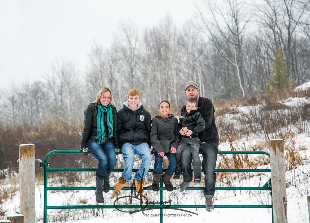 The Bressette Family