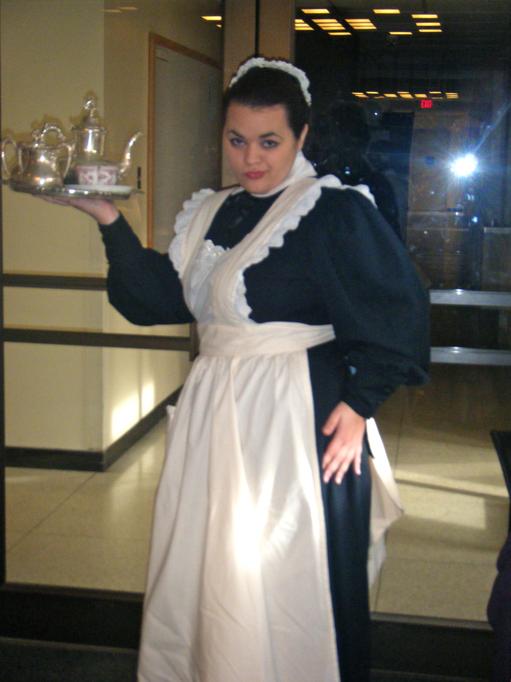 As Berta in Hedda Gabler