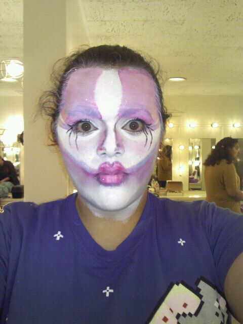Unicorn/Mermaid, Stage Make-Up class