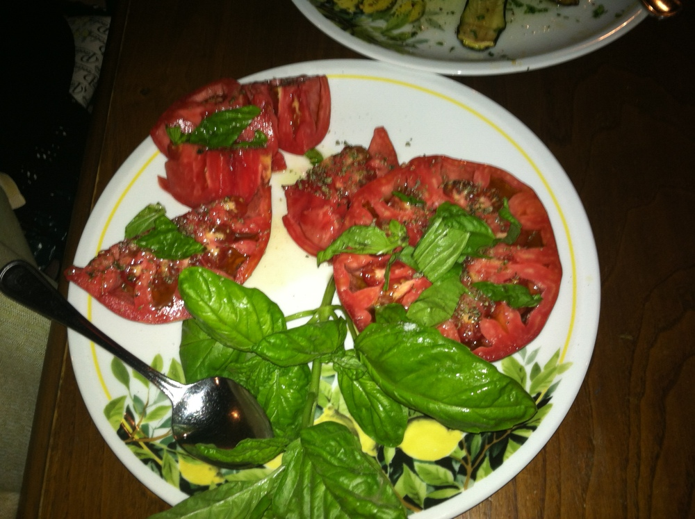 """Storied """"Heart of Bull"""" tomato of Ristorante Paolino"""