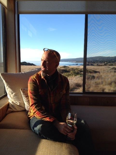 David Rosoff in his office at Mozza.