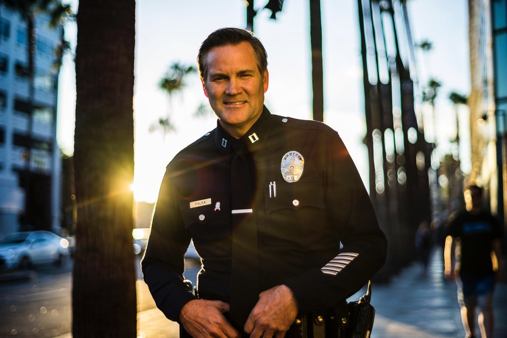 LAPD Capt. Cory PaLka , commander of the hollywood division