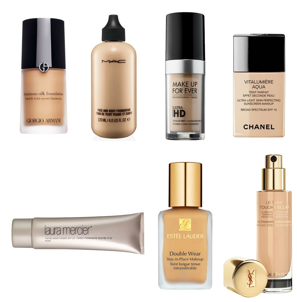 Devinl beauty my favorite foundations for Foundations types