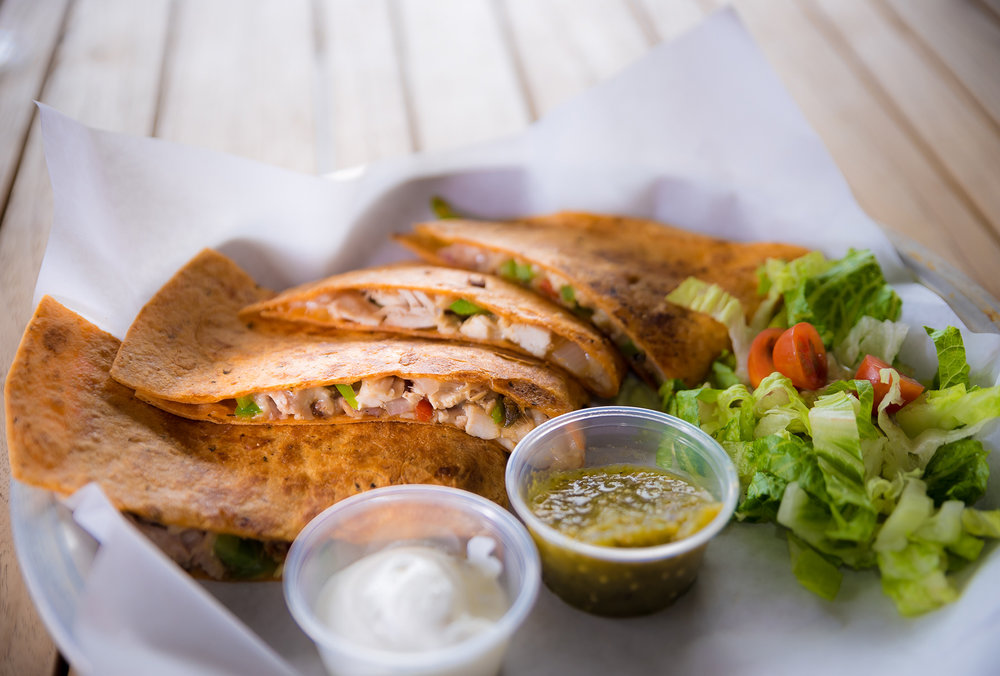 Smoked Chicken Quesadilla
