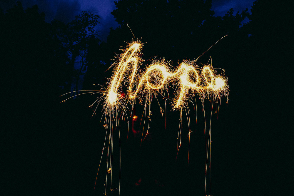 Amanda Danziger - Sparkler Writing Photography Lesson
