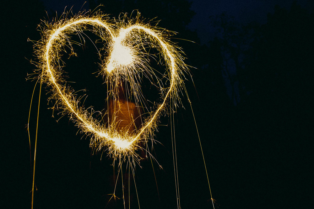 Amanda Danziger - Sparkler Writing Photography Lesson #4thofjuly