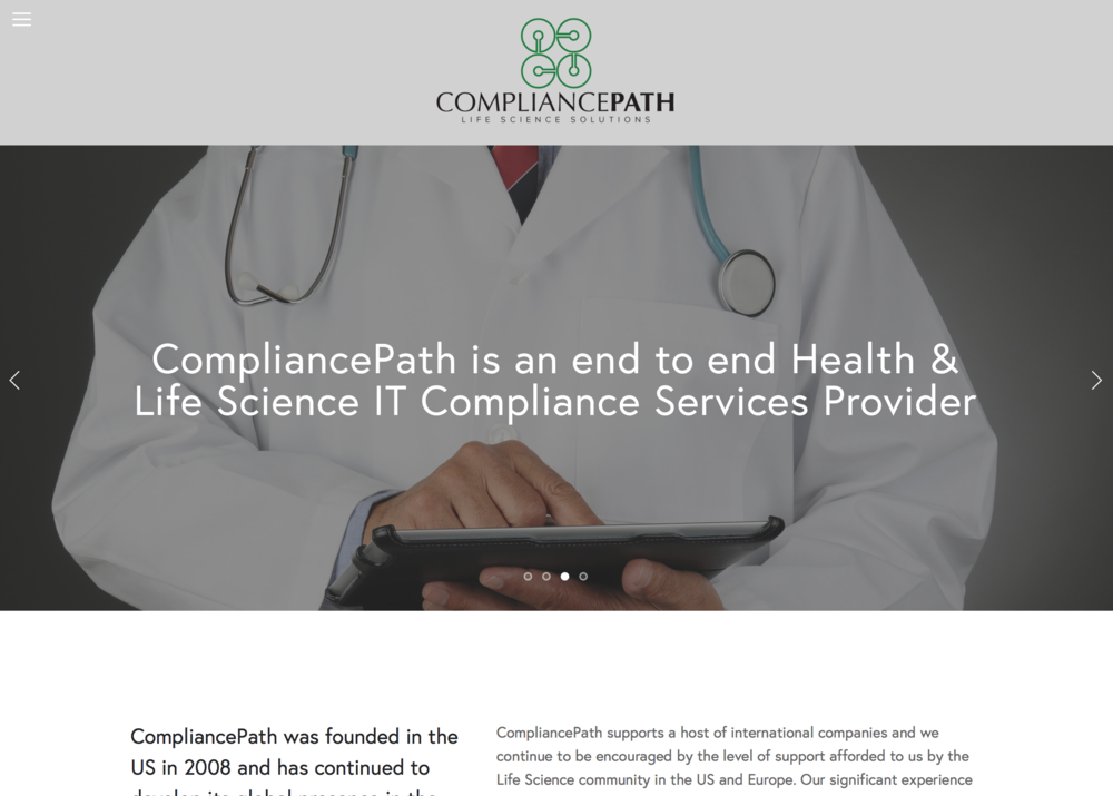 Compliance Path Website