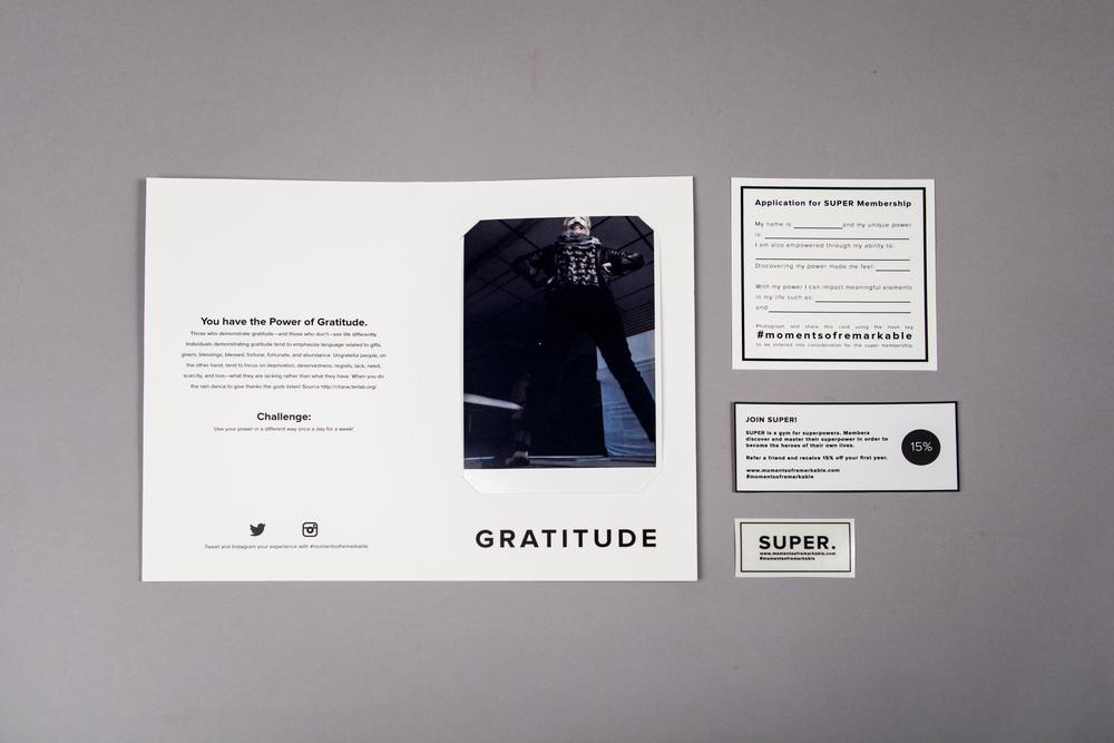 Final takeaway Super membership packet - Gratitude