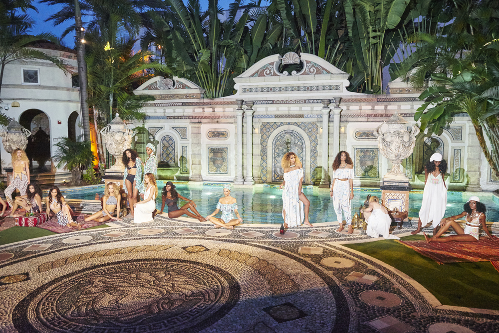 Photographed in conjunction with Sherry Bryant of GirlTalkTV, www.girltalktv.com, at the Versace Mansion www.vmmiamibeach.com, for Mara Hoffman swimwear 2016, www.marahoffman.com
