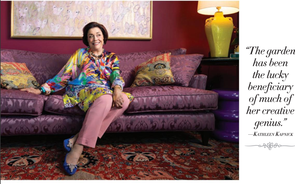 Jane Purdy Berger Philanthropist shot at her home in Naples, Florida for Naples Illustrated Magazine, Hair and Makeup by Philip Douglas & Co photographed by Vanessa Rogers Photography