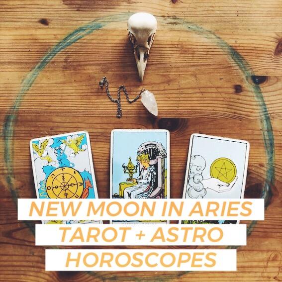 new moon aries horoscope