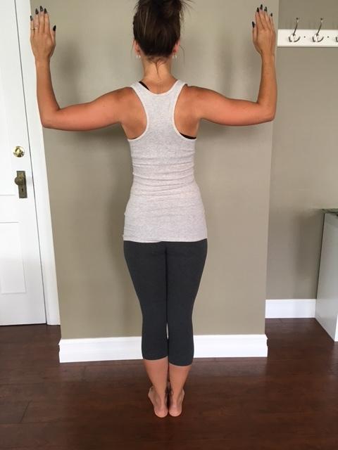 "Thanks Pilates! I guess you've ""got my back""! xo"