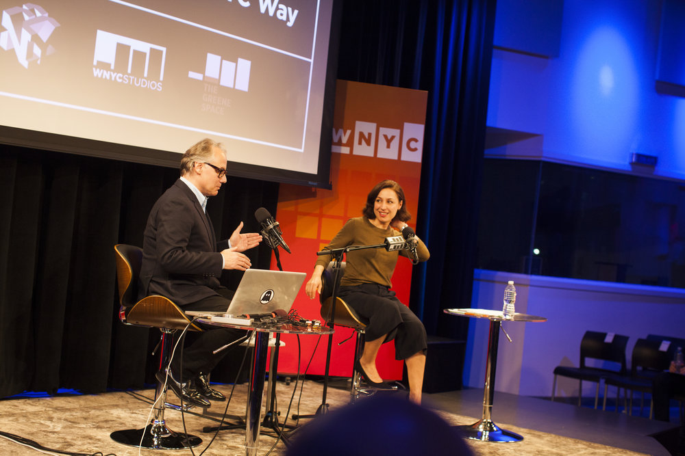 WNYC for Fast Company