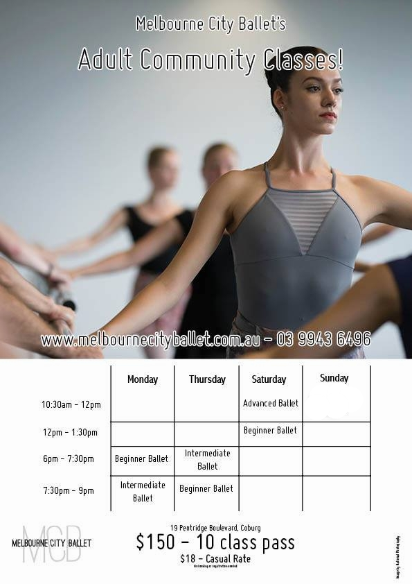 Adult Community Classes