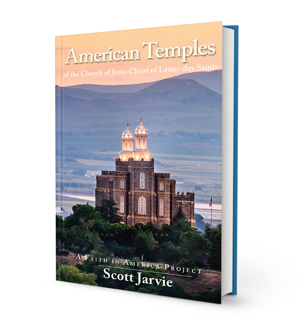American Temples book by Scott Jarvie