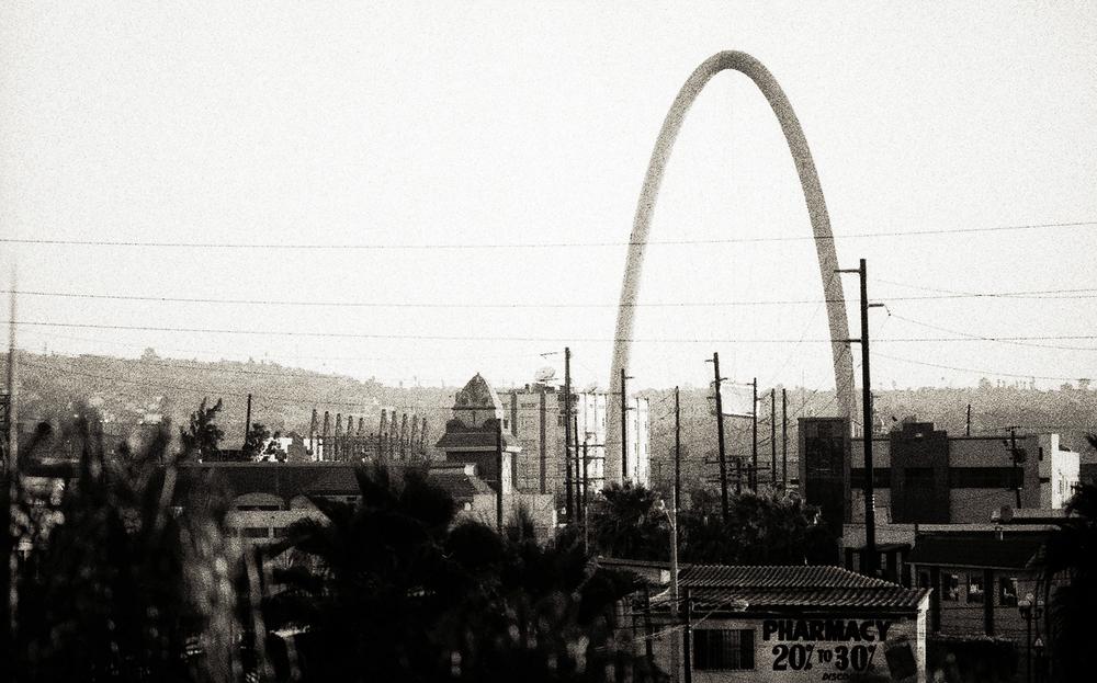 El Arco. Tijuana, BC, 2010