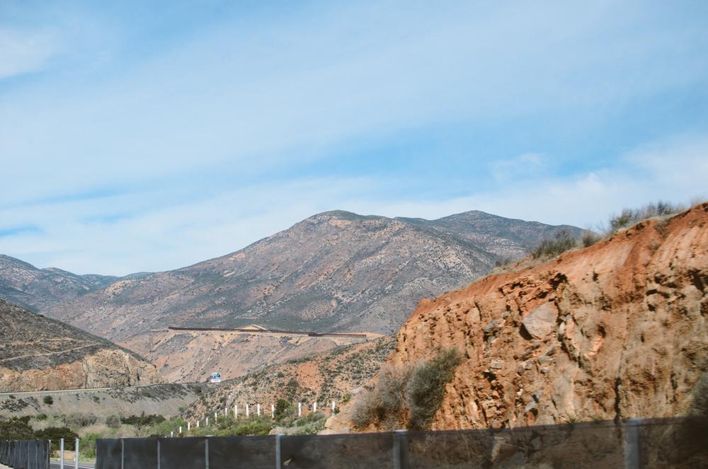 Mexico-US border. Tecate,BC, 2014