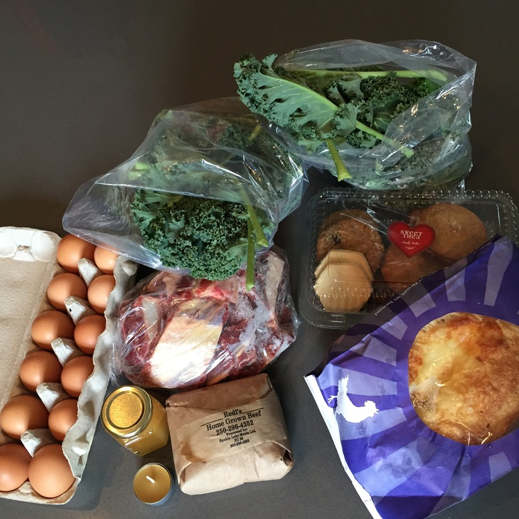 Our market haul!