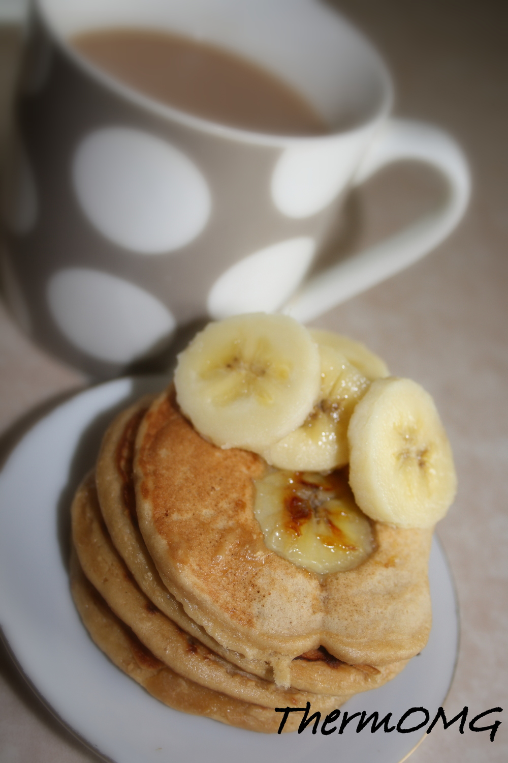 Wholemeal Banana Pikelets