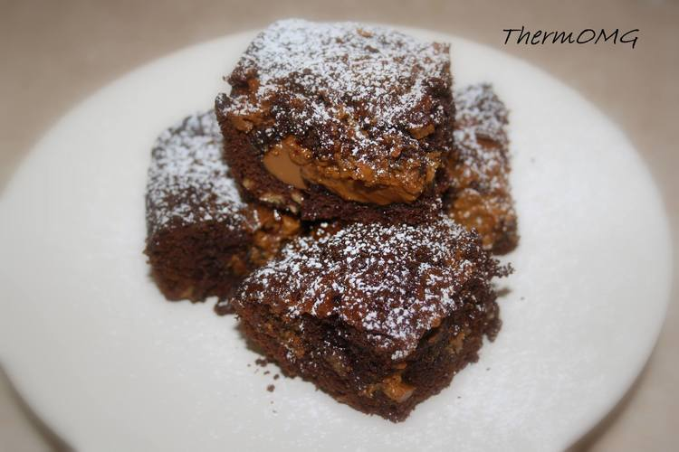 Cheats Caramel Brownies