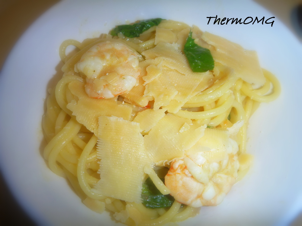 Lemon Chilli Prawn Spaghetti